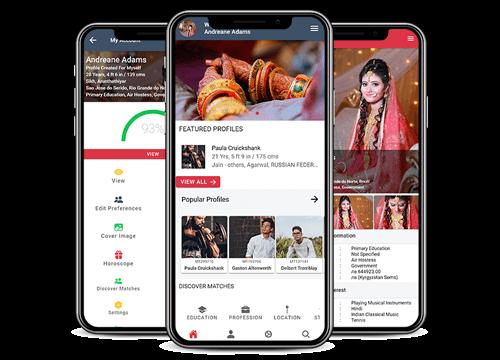 matrimonymax.com Mobile Application